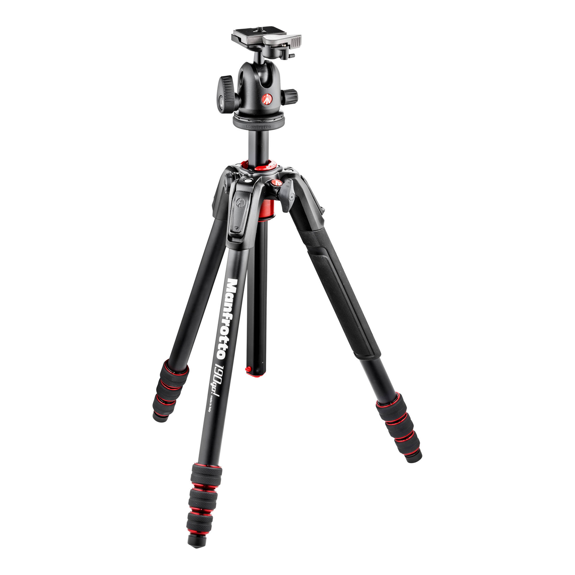 190Go Aluminum Tripod Kit with Ball Head