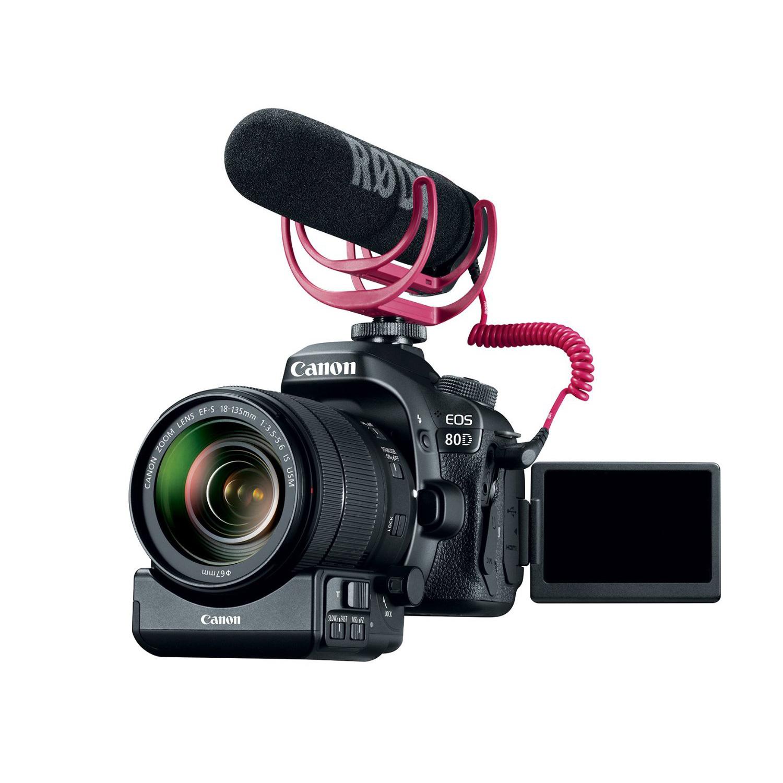 Canon Eos 80d Digital Slr Camera With 18 135mm Lens Video Creator Kit Wi Fi Dslr 200mm