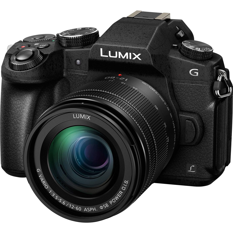 Panasonic Lumix Dmc G85 Mirrorless Micro Four Thirds Digital Camera Gh5 Body Lens Leica 12mm F 14 Asph With 12 60mm