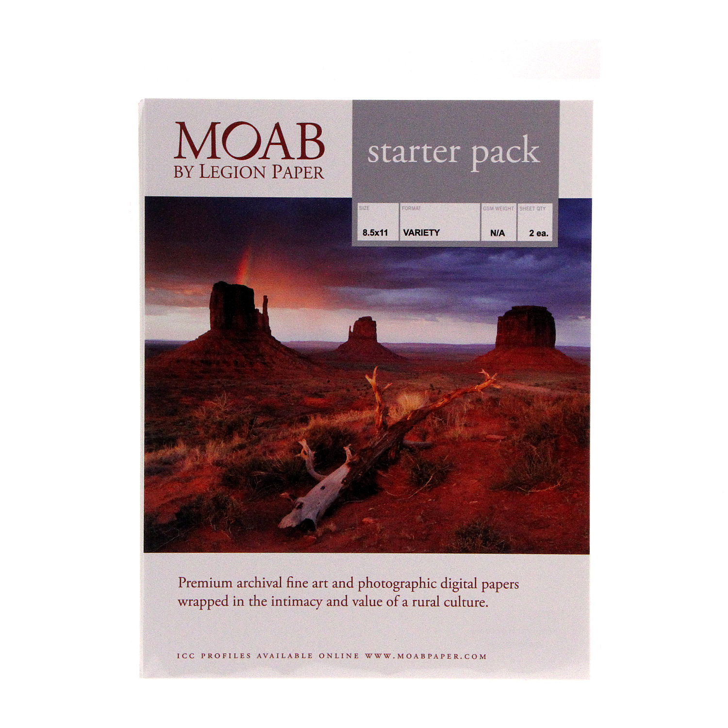 Matte NEW Canon Pro Paper Sampler Pack 20 Sheets 8.5 x 11 Platinum Glossy