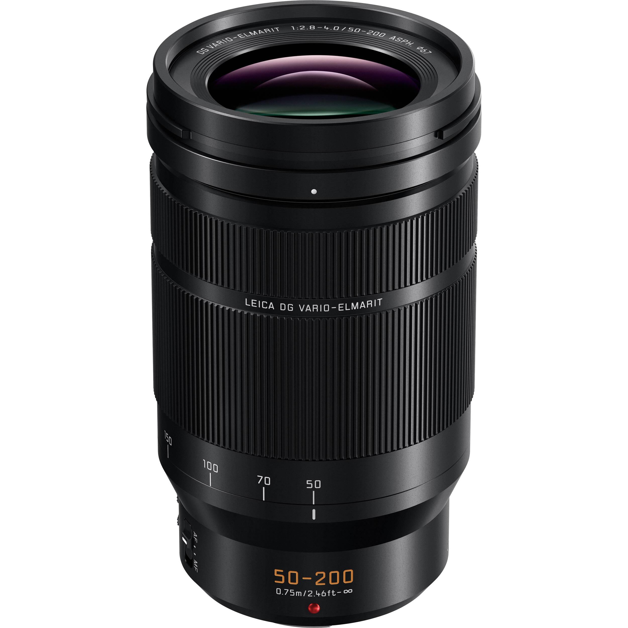 Panasonic Leica Dg Vario Elmarit 50 200mm F 28 4 Asph Power Ois G7 Kit 14 42 Ii Silver 25mm Lens