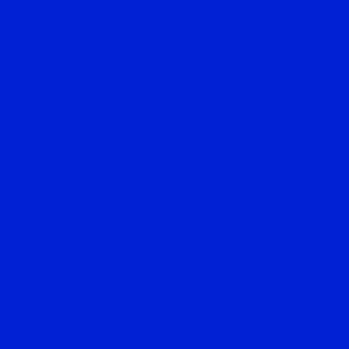 Image of Lee Filters Gel Sheet 079 Just Blue Lighting Filter - 21X24