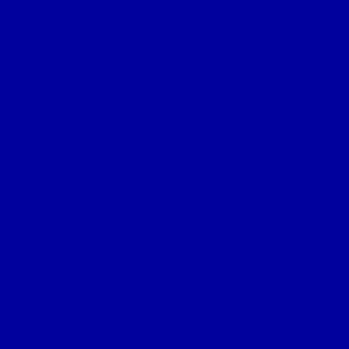 Image of Lee Filters Gel Sheet 085 Deeper Blue Lighting Filter - 21X24