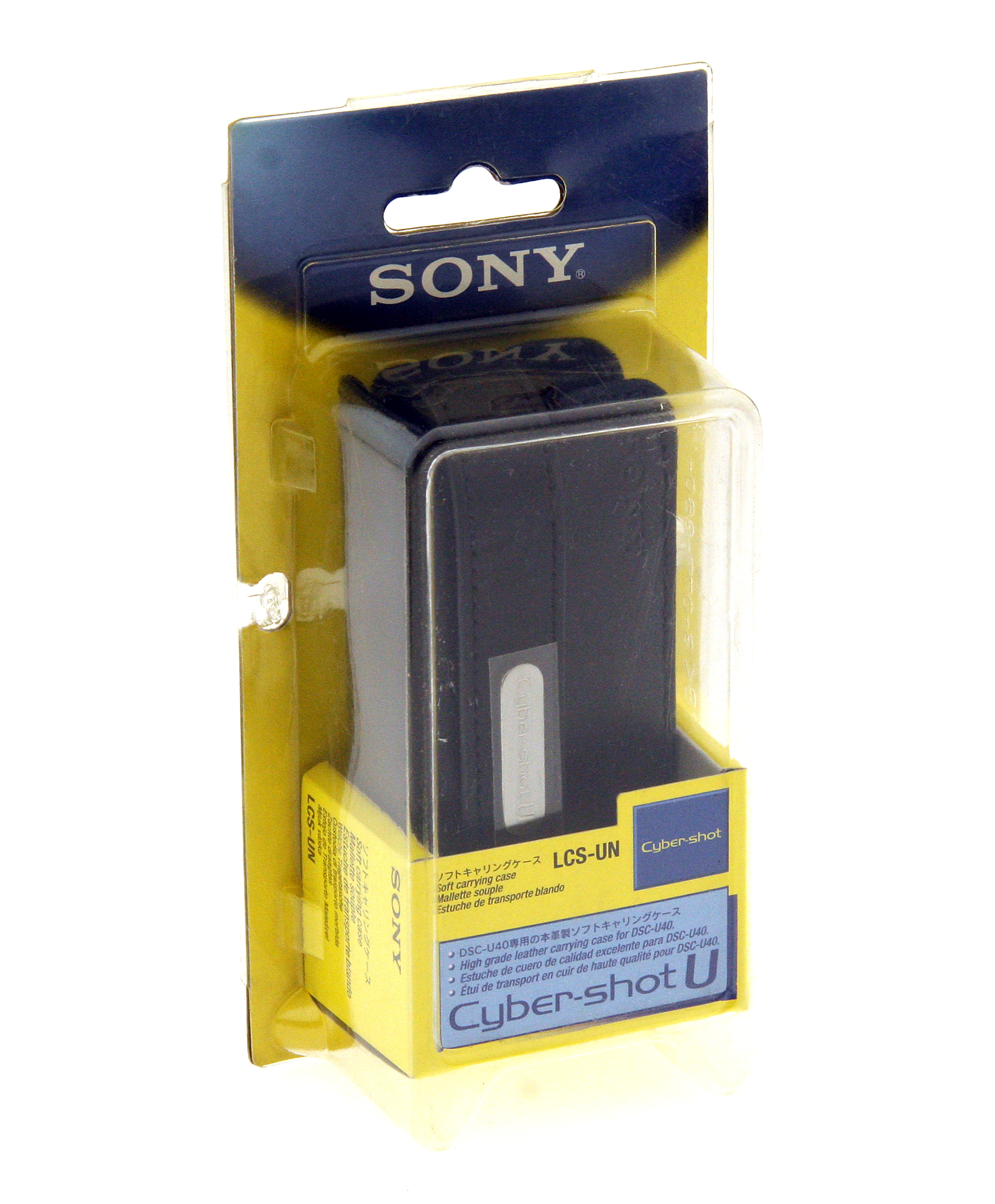 LCS-UN Soft Leather Case - for Sony DSC-U40