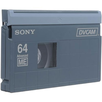 PDV-64N 64 Minute DVCAM Tape