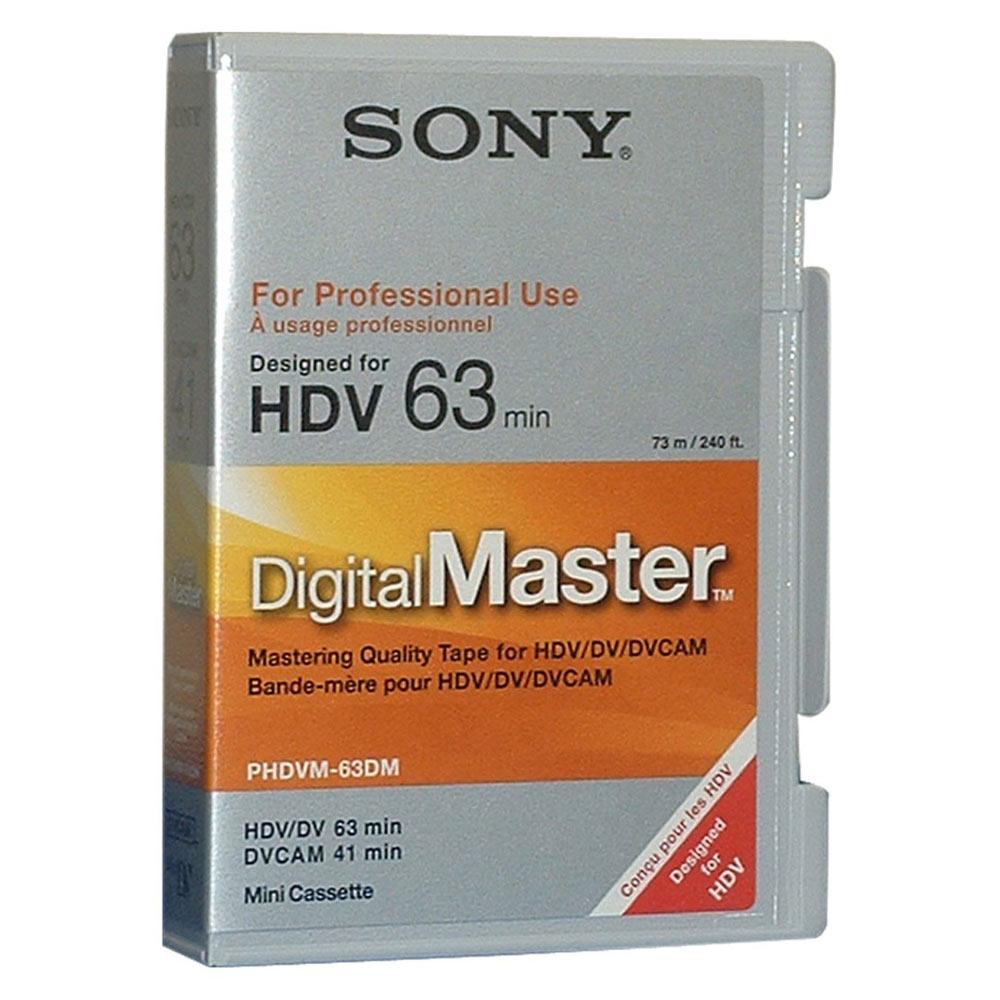 DigitalMaster Mini 63 min. HDV  41 min. DVCAM
