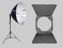 Broncolor lighting, camera lighting, studio strobes, Reflectors & Light Modifiers