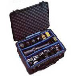 1550 Watertight Hard Case with Padded Dividers Black