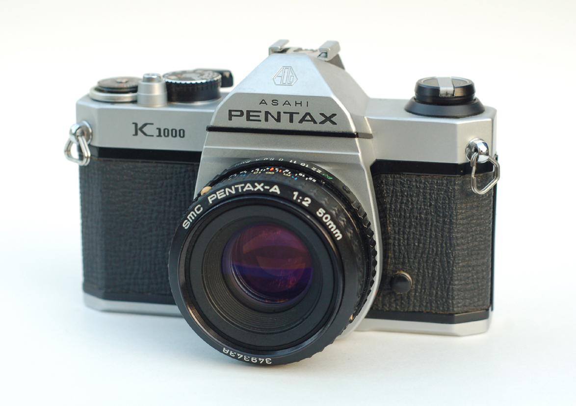 PENTAX K1000 W/ 50MM F2.0