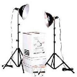Image of Smith Victor KT500U Two Light 500 watt Thrifty Photoflood Kit