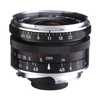 Zeiss | Super Wide Angle 21mm f/4.5 C Biogon T* ZM Manual Focus Lens (Black) | 1419575