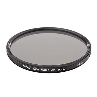 Tiffen | 77mm Circular Polarizing Wide Angle Filter | 77WIDCP