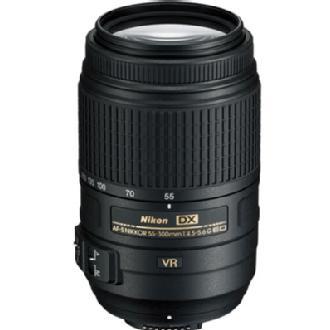 AF-S NIKKOR 55-300mm f/4.5-5.6G ED VR Zoom Lens - (Refurbished)