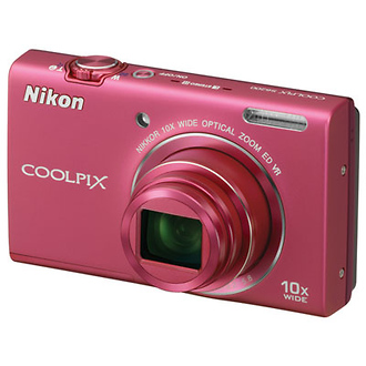 Coolpix S6200 Digital Camera (Pink) - Open Box*
