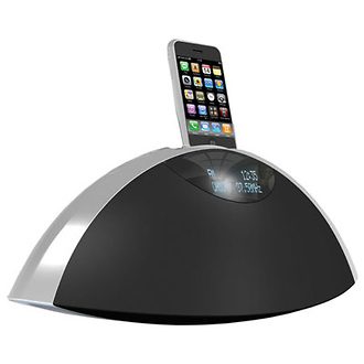 SR-80i Hi-fi AM/FM Radio with iPod/iPhone Dock (Black)
