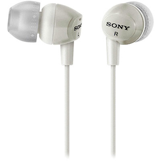 MDR-EX10LP In-Ear Stereo Headphones (White)
