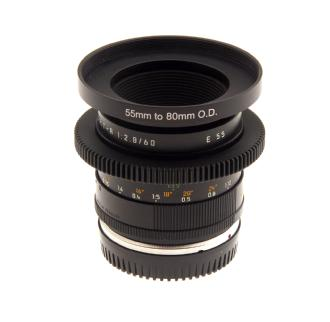60mm f/2.8 Macro Elmarit R Lens - Duclos Converted To Canon EF Mount