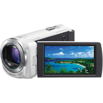 HDR-CX260V High Definition Handycam Camcorder (White)