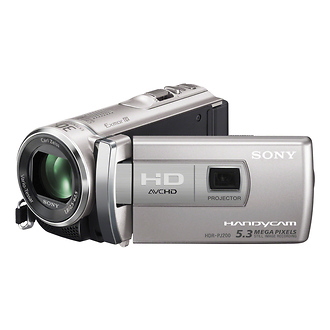 Sony | HDR-PJ200 High Definition Handycam Camcorder (Silver) | HDRPJ200S