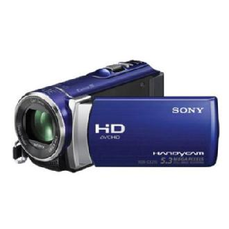 HDR-CX210 High Definition Handycam Camcorder (Blue)