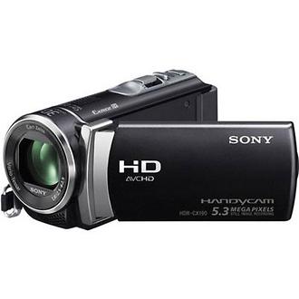 HDR-CX190 High Definition Handycam Camcorder (Black)