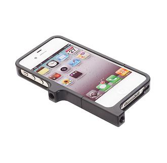 Aluminum Case for iPhone 4 & 4S (Black)