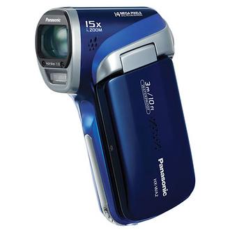 HX-WA2 High Definition Waterproof Camcorder (Blue)