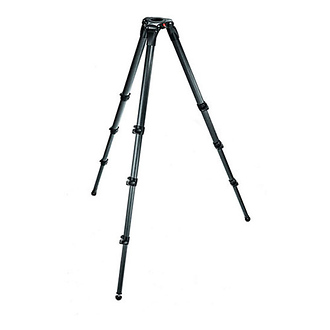 Manfrotto | 4-Section Carbon Fiber Video Tripod - Open Box* | 536