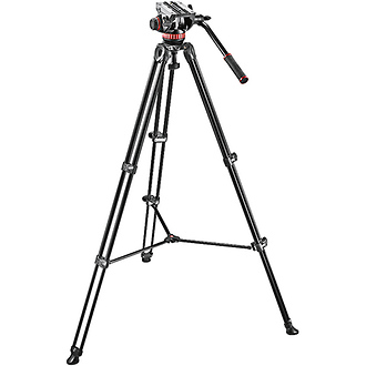 MVH502A Fluid Head and MVT502AM Tripod System With Carrying Bag