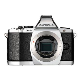Olympus | OM-D E-M5 Micro Four Thirds Digital Camera Body (Silver) | V204040SU000