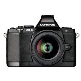 Olympus   OM-D E-M5 Micro Four Thirds Digital Camera with 14-42mm Lens (Black)   V204041BU000