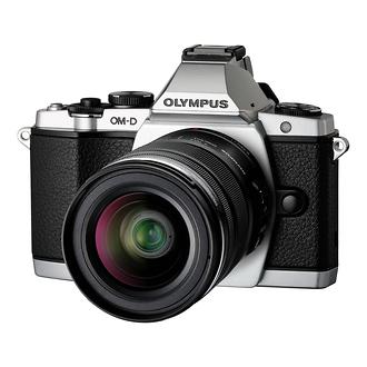 Olympus   OM-D E-M5 Micro Four Thirds Digital Camera with 12-50mm Lens (Silver)   V204045SU000