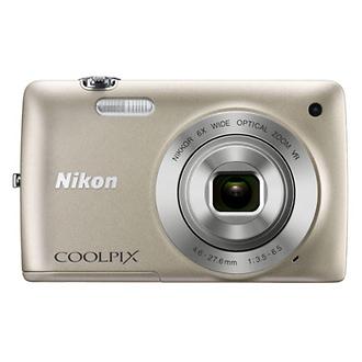 Coolpix S4300 Digital Camera (Silver)