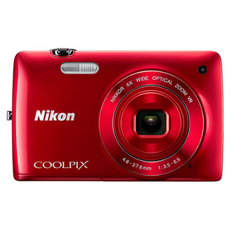 Coolpix S4300 Digital Camera (Red)