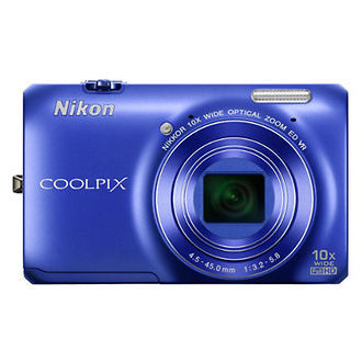 Coolpix S6300 Digital Camera (Blue)