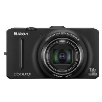 Coolpix S9300 Digital Camera (Black)