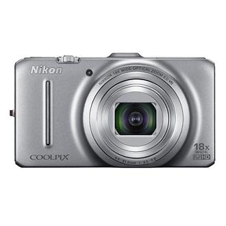 Coolpix S9300 Digital Camera (Silver)
