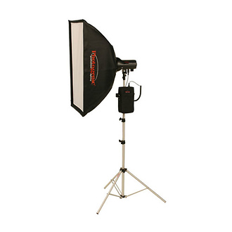 AKC50BK 320W/s Travel Soft Box Kit with Battery (AC/DC)