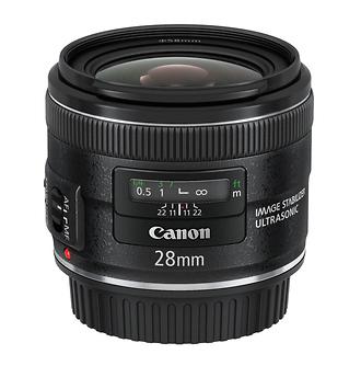 EF 28mm f/2.8 Wide Angle IS USM AF Lens