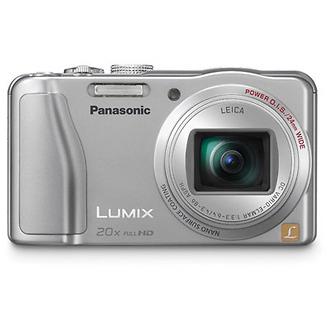 Lumix DMC-ZS20 Digital Camera (Silver)