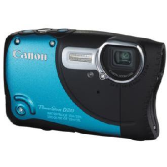 PowerShot D20 Digital Camera (Blue)