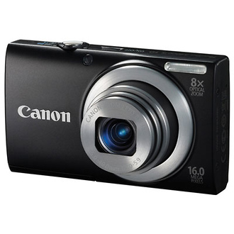 PowerShot A4000 IS Digital Camera (Black)