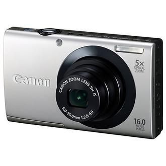 PowerShot A3400 IS Digital Camera (Silver)