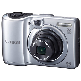 PowerShot A1300 Digital Camera (Silver)