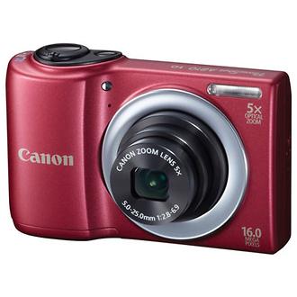 PowerShot A810 Digital Camera (Red)