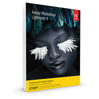 Photoshop Lightroom 4 Software for Mac & Windows (Student & Teacher Edition)