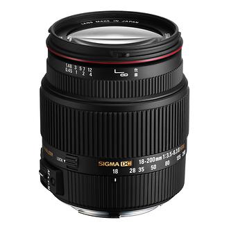 Sigma 18-200mm F3.5-6.3 Auto Focus Lenses for Canon Cameras