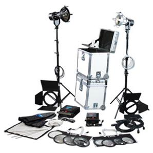 K5600 Lighting | Joker-Bug 400W / 800W HMI 2 Light Kit | K0400/800JB+