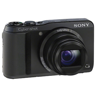 DSC-HX20V Cyber-shot Digital Camera (Black)