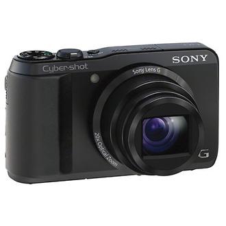 DSC-HX20V Cyber-shot Digital Camera (Black)